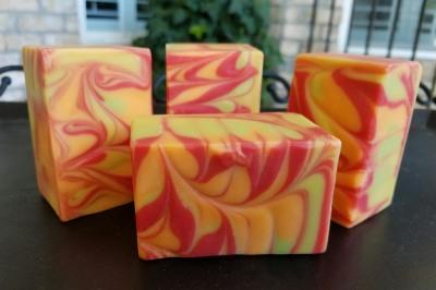 Citrus Cream Goat Milk Soap