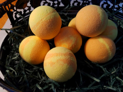 Pumpkin Soufle Bath Bombs