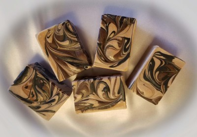 Warm Vanilla Cream Goat Milk Soap