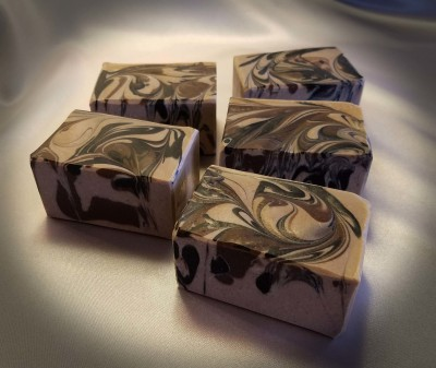 Warm Vanilla Cream Goat Milk Soap