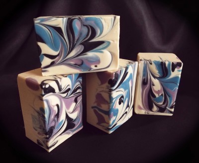 Lilac and Wisteria Goat Milk Soap