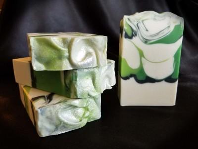 Eucalyptus Mint Silk Soap