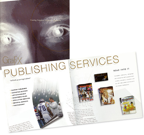 Capabilities Brochure for the Publishing Group