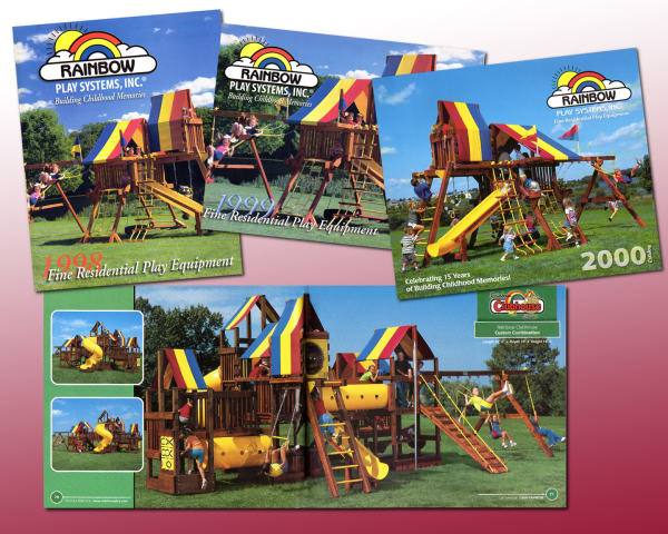 rainbow catalog design