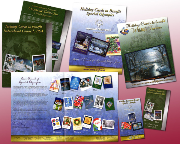 Gift Card Brochure and Order Form for Special Olympics by WiM Designs
