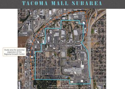Tacoma Mall Expansion Study  Area