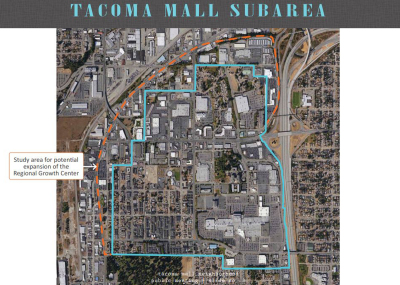 Tacoma Mall Expansion Study  Area