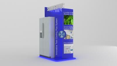 POP Gondola for Samsung Twin Cooling System render 1
