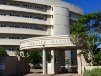Main entrance to Ballito Manor complex