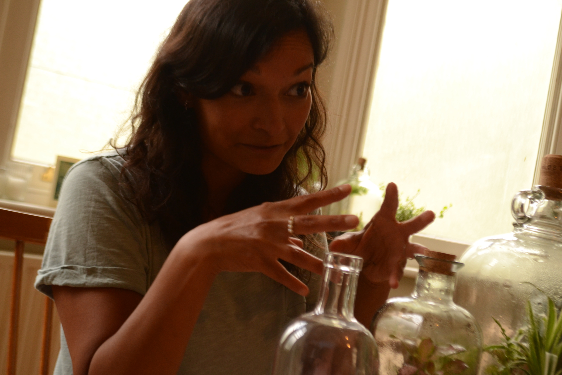 Shanti Anderson's Terrarium Workshop