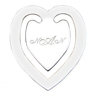 Heart Shaped Bookmark
