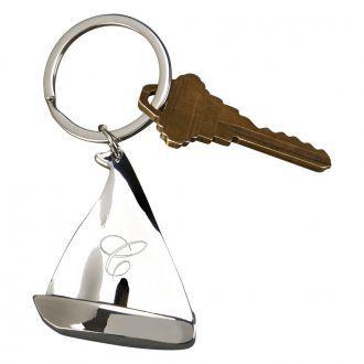 Sailboat Shaped Key Chain