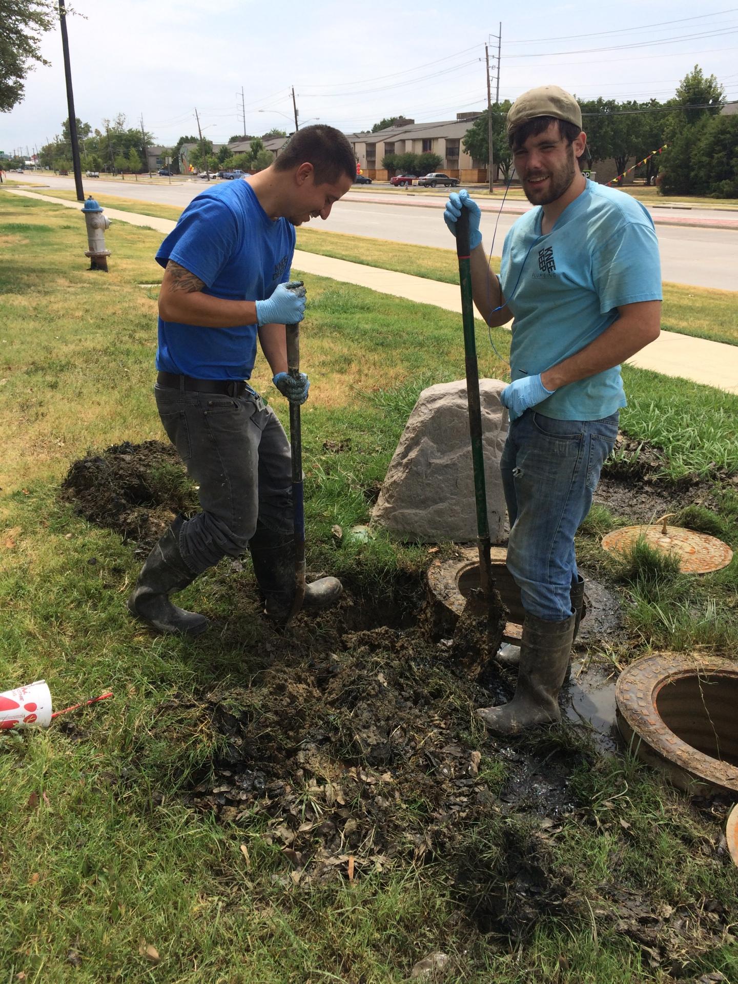 Commercial water leak repair