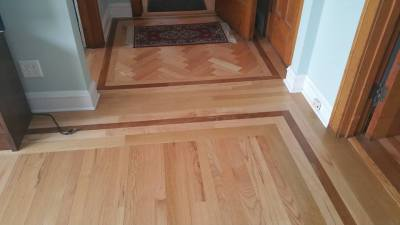 2.Custom Hardwood floors