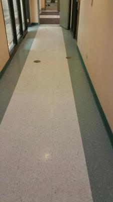 Hallway flooring-vinal