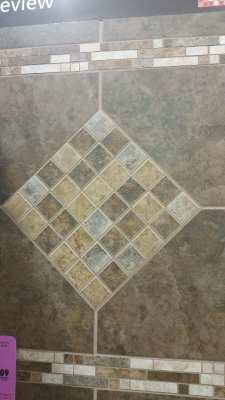 Designed tile sample