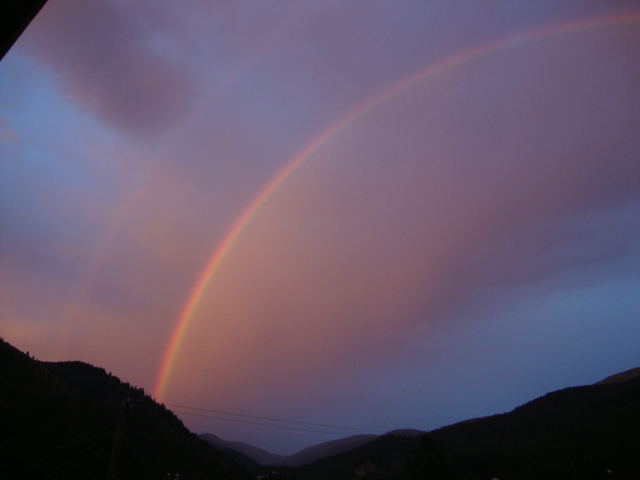 Double Rainbow in Mullan