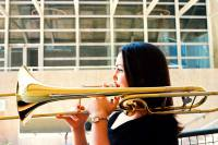 Nicole Abissi trombone at Colorado Symphony