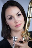 Nicole Abissi trombone headshot