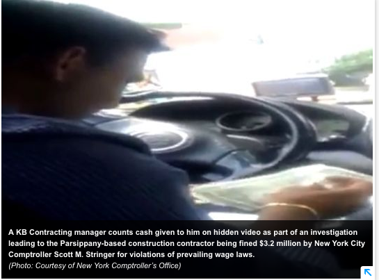 Hidden video of Parsippany contractor