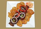 Griot  / Fried Pork Chunks