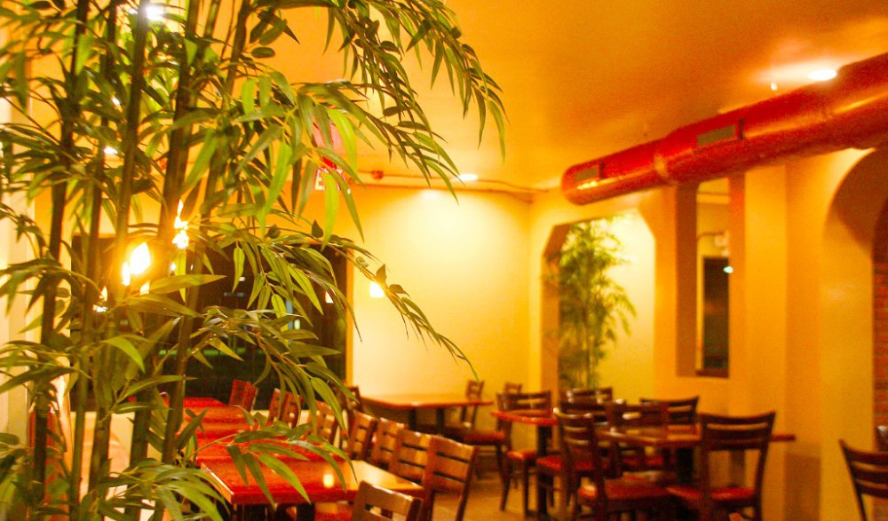 Inside Island Hub Restaurant