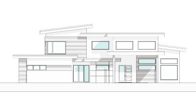 Front Elevation - ENS Design Group