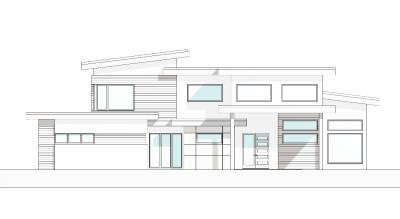Front Elevation - ENS Design Group