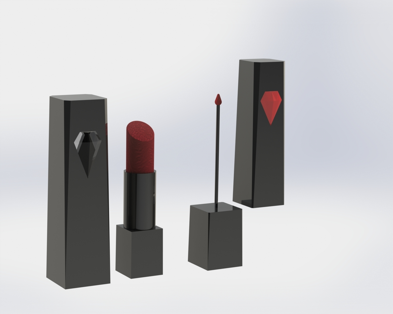 Prototype of Lipstick & Eye Liner Product