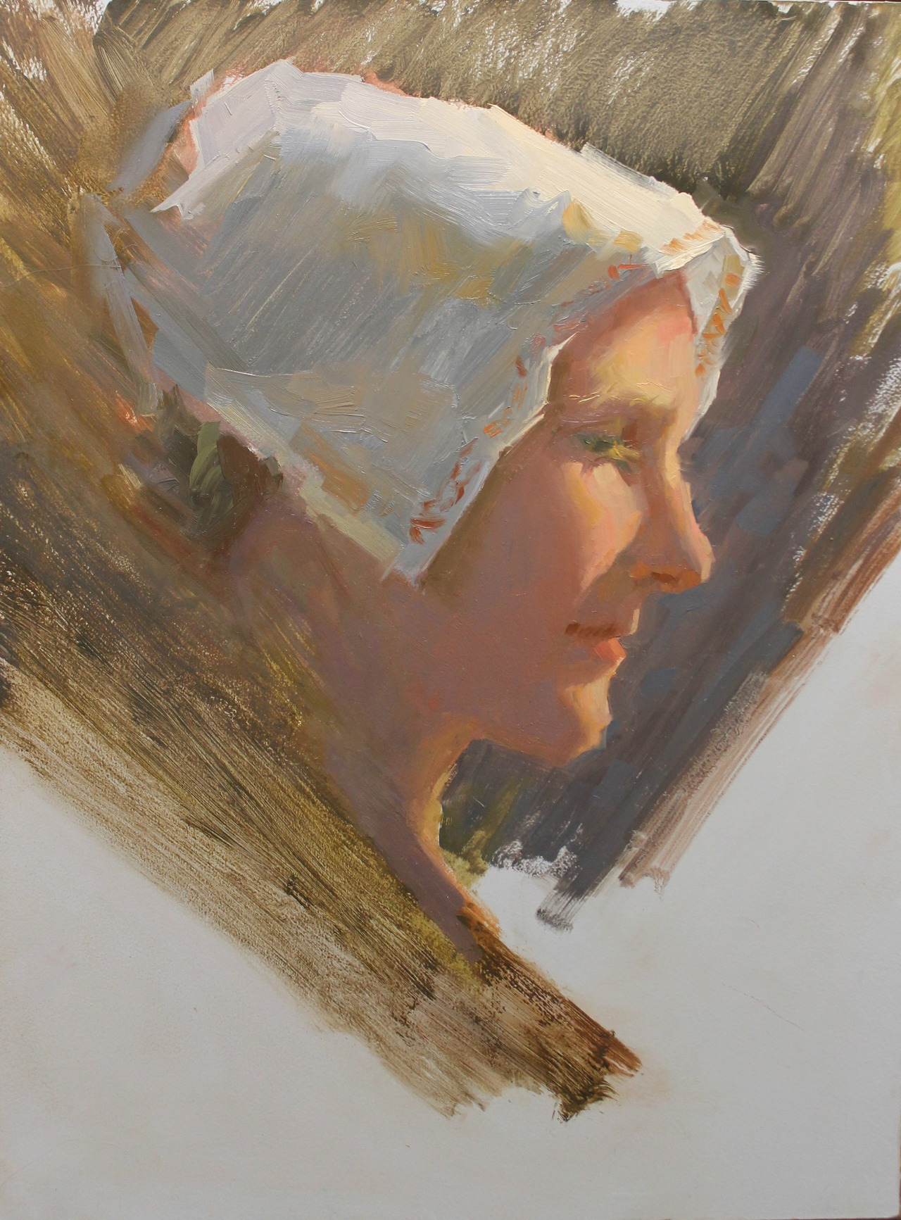Stephanie Paige Thomson, Stephanie's Sketches, Oil Painting, Oil Portrait, Alla Prima, Painted from Life, Sensitive