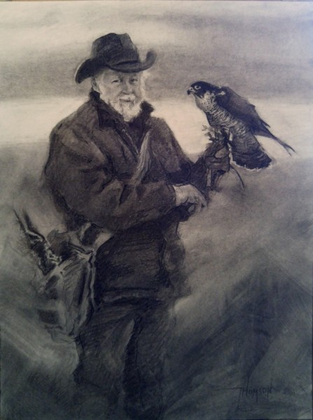 """""""The Falconer: A Legacy"""" (SOLD)"""