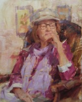 Stephanie Paige Thomson, Stephanie's Sketches, Painted from Life, Alla Prima, Life Drawing, Posed Model, Oil Painting, Portraiture, Figurative Artwork