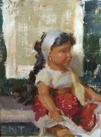 Stephanie Paige Thomson, Stephanie's Sketches, Still Life, Alla Prima, Painted from Life, Painting Dolls, American Girl Dolls