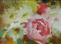 Stephanie Paige Thomson, Oil Painting, Stories, Hoosier Salon Gallery, Country Art, Fine Art, Barn Painting, Flowers, Flower Painting, Alla Prima Painting