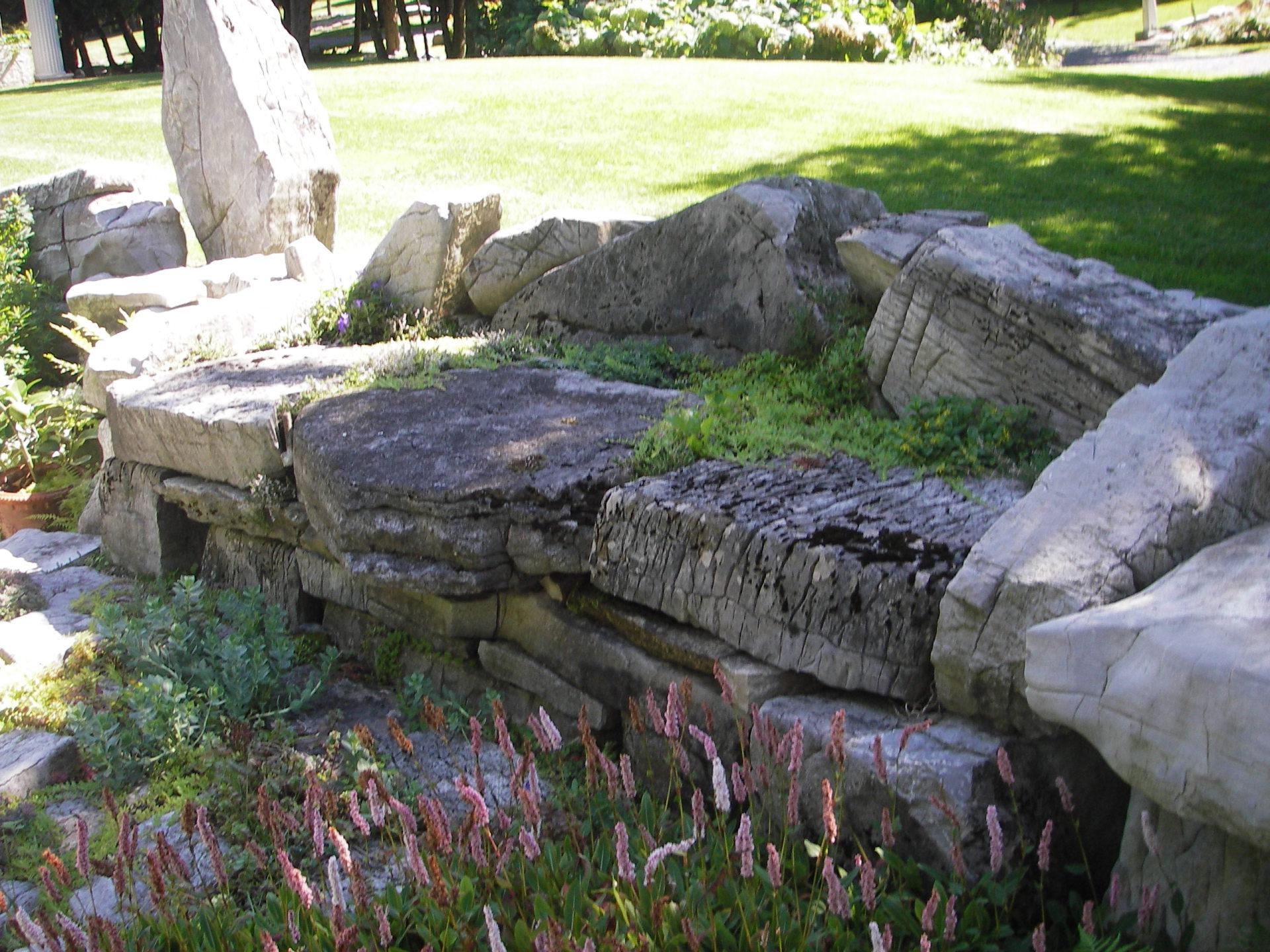 The Stone Sofa