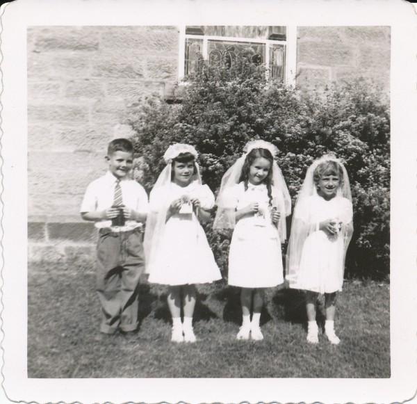 1951 First Communion (Helen Wilson)