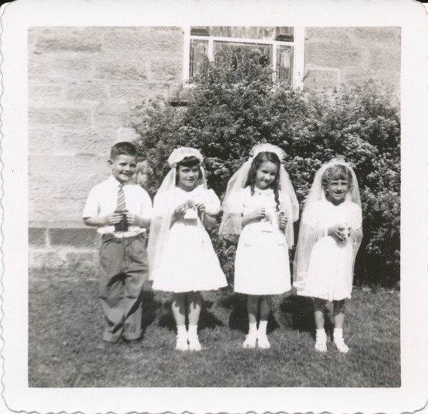 1951 First Communion (Helen Wilson)