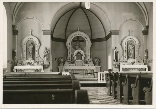 1960 Interior of Church (Centennial)
