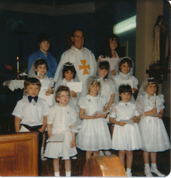1982 First Communion (Lesley Hubert)
