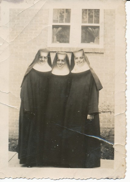 1940s Nuns by Rectory