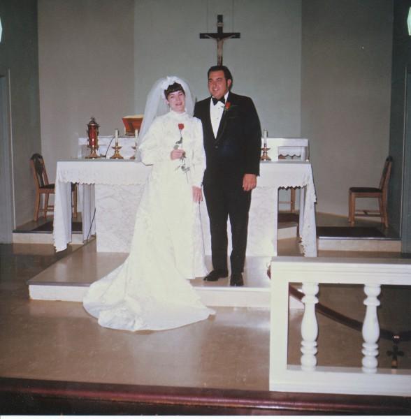 1970 Wedding (Rita Judge Krampe & Gerald Krampe)