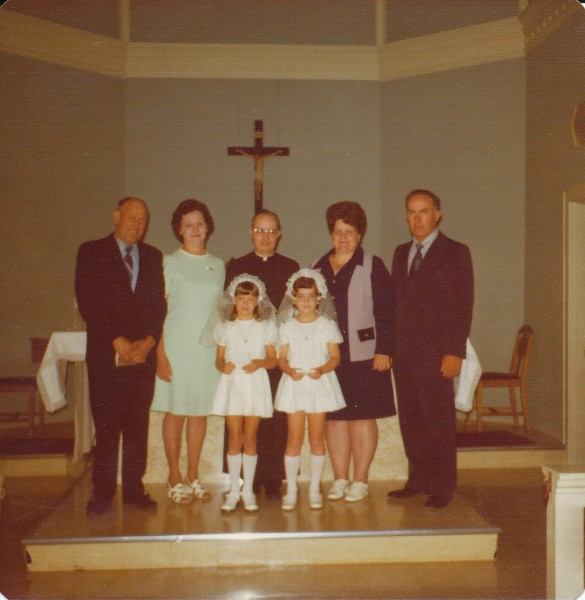 First Communion (Tina & Angie)