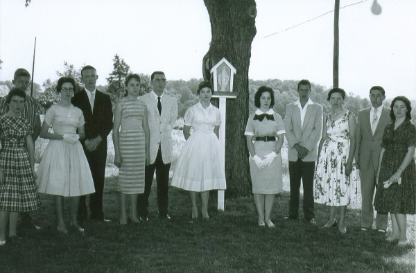Youth Group of Holy Cross 100 Years (Darlene Marty)