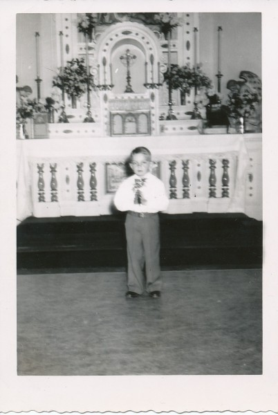 1952 First Communion (Joe Faulkenberg)