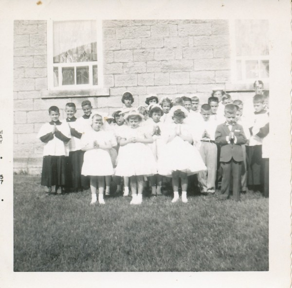 1957 First Communion