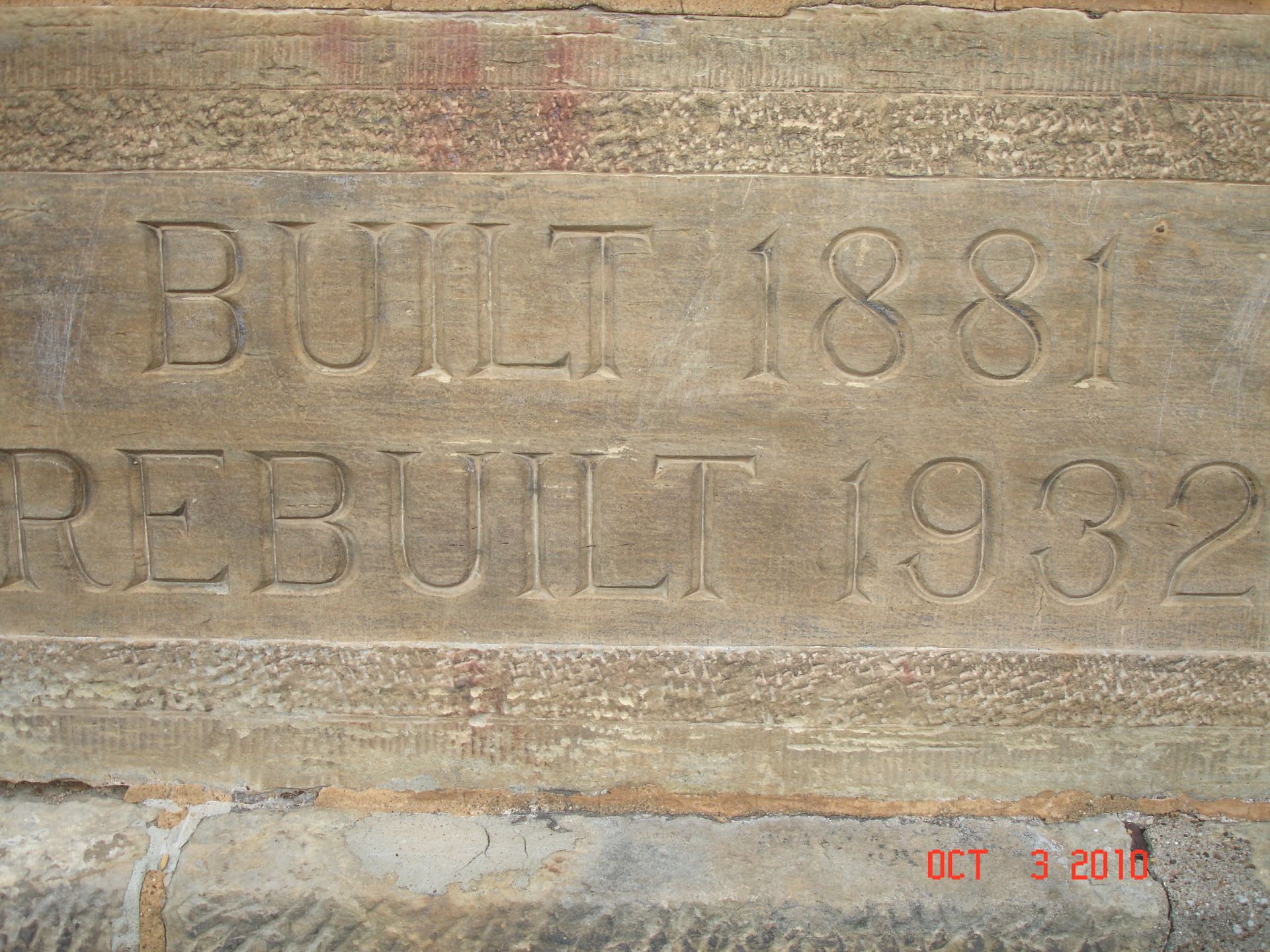 Holy Cross Cornerstone