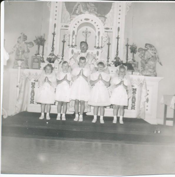 1952 First Communion (Joe Faulkenberg)