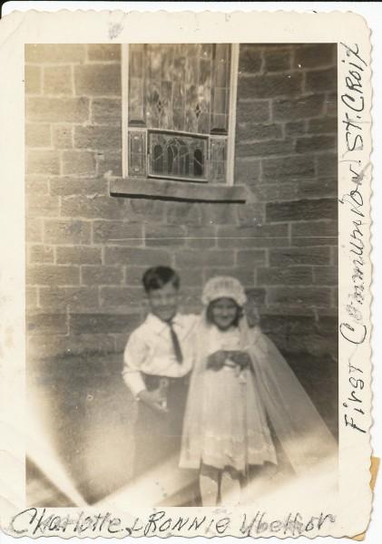 First Communion (Ronnie & Charlotte)
