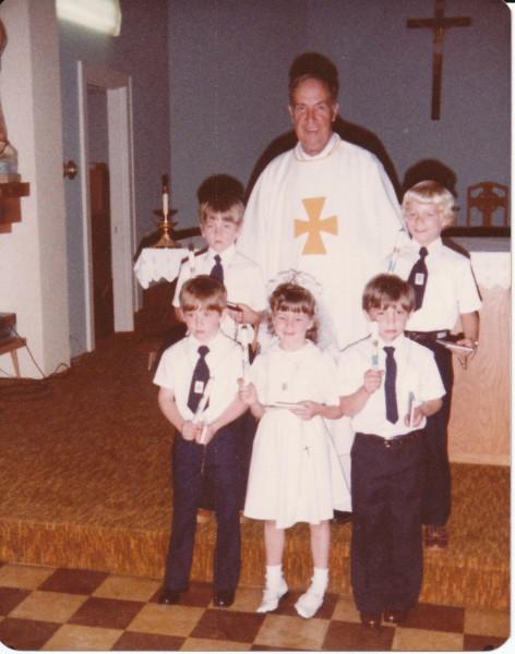 1980 First Communion
