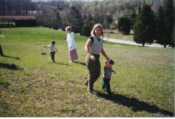 1997 Easter Egg Hunt